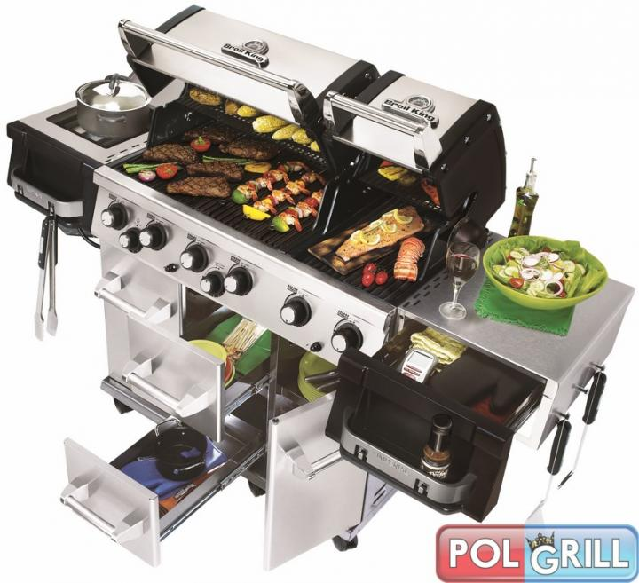 GRILL GAZOWY  IMPERIAL XL 90 BROIL KING